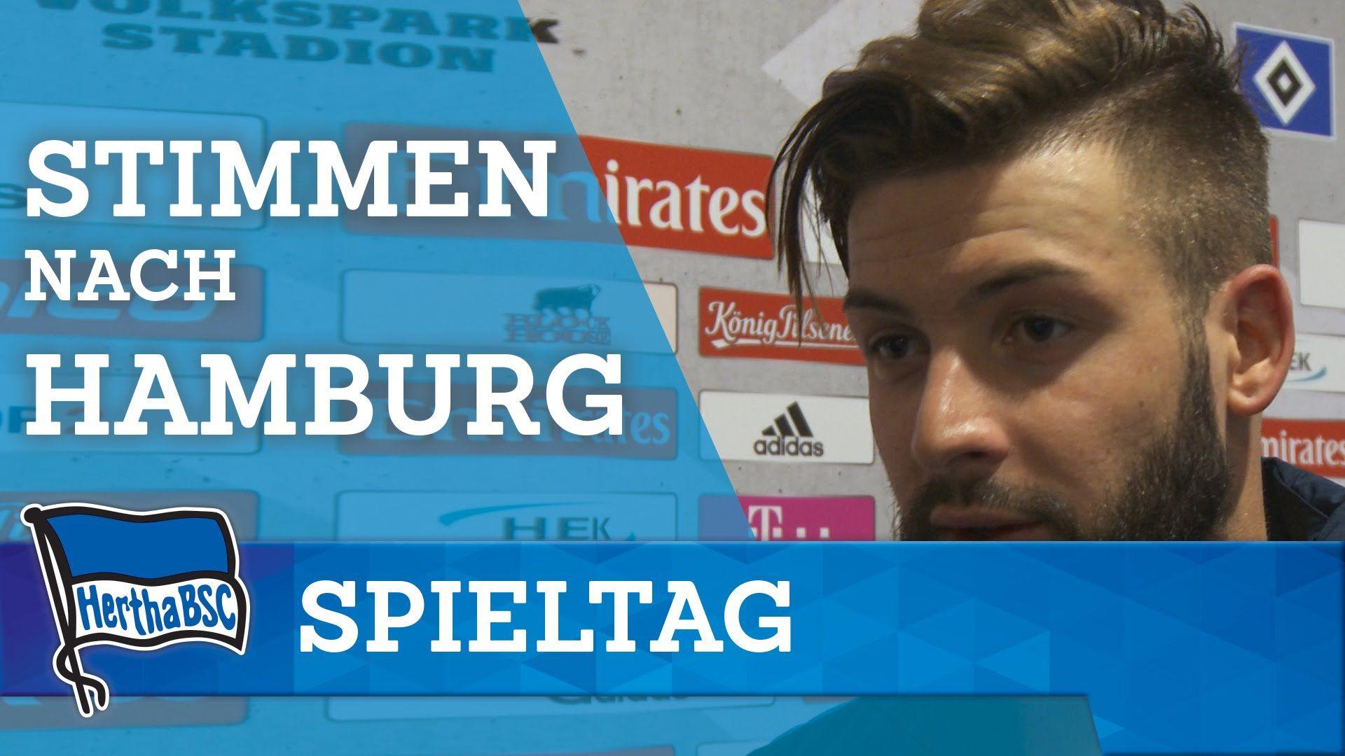 Stimmen nach Hamburg - Plattte - Stark - Hertha BSC - Berlin - 2016 #hahohe
