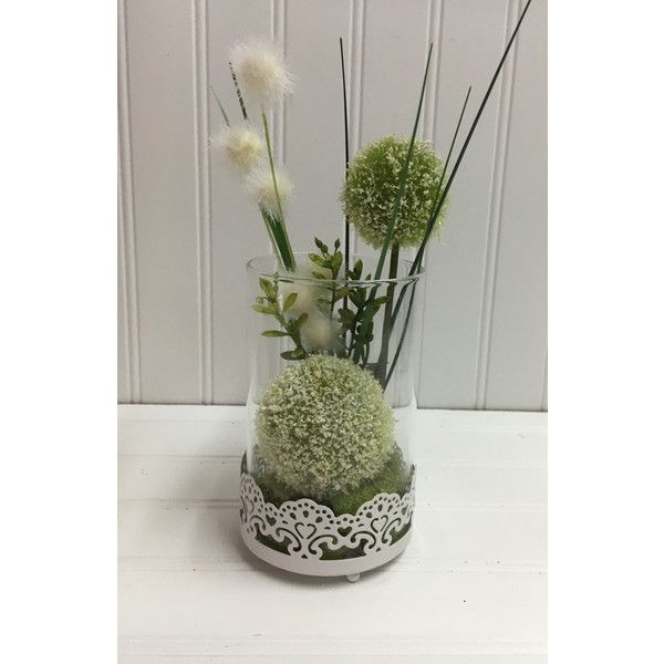 Table decoration, floral table decor, floral table centerpiece, mantel... ($25) ❤ liked on Polyvore featuring home and home decor