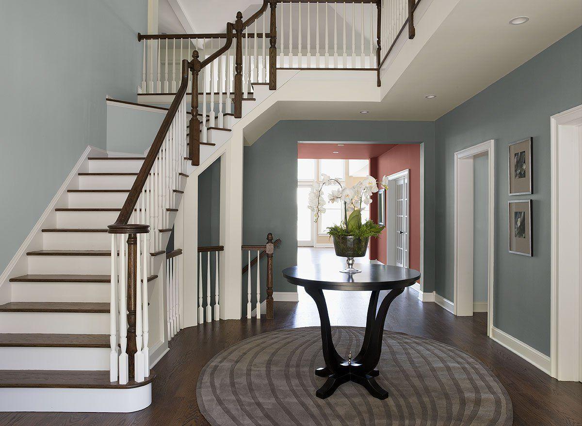 Benjamin moore paint colors blue entryway ideas - Best foyer paint colors ...