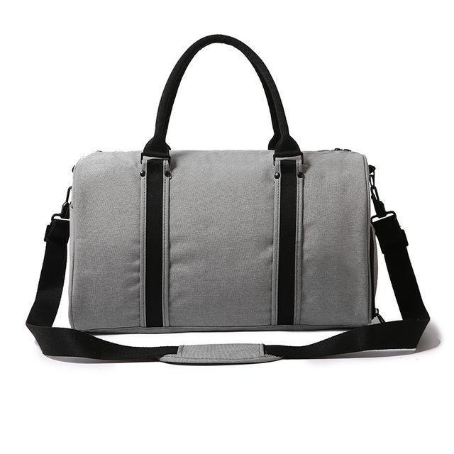 d6605cc97f7 Outdoor Sports Bag for Men Women Fitness Shoulder Ball Gym Bags with Shoes  Storage Handbag Training Travel Luggage Duffel XA44WA