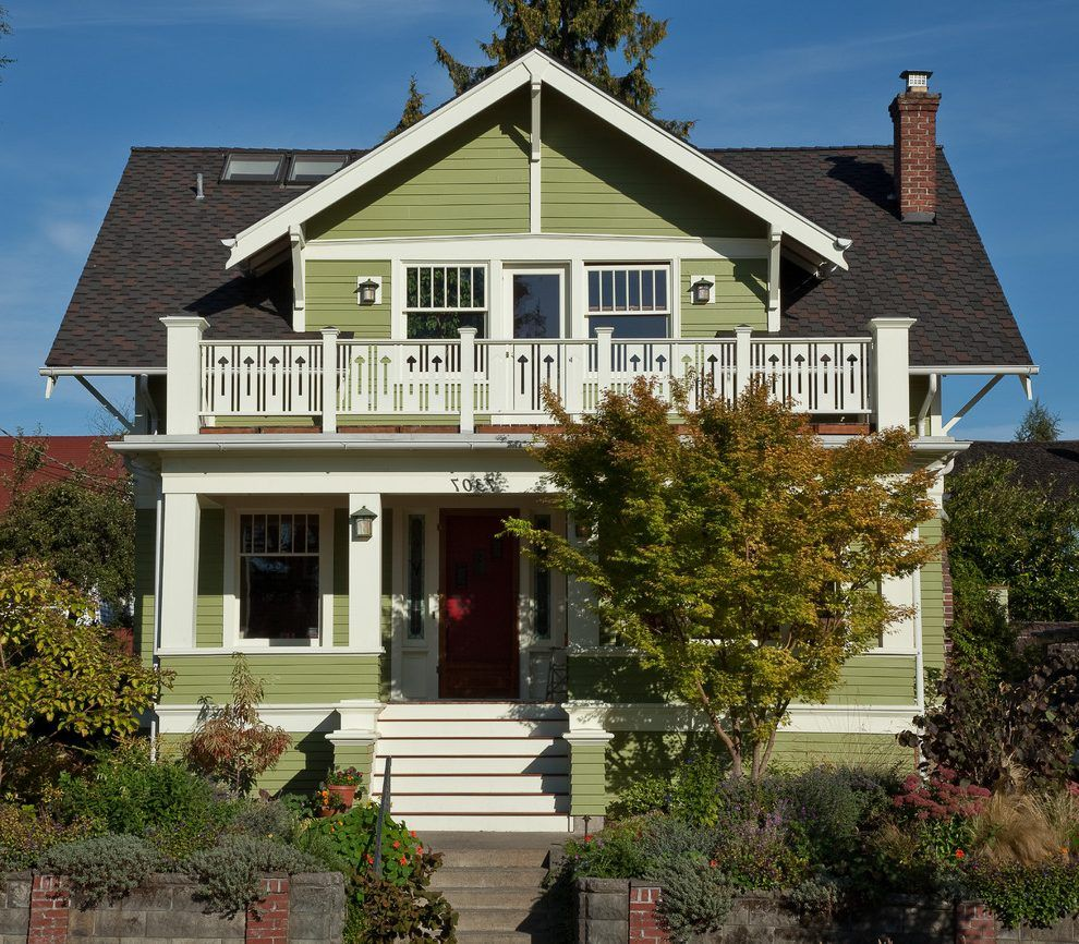 House Front Balcony Designs Exterior Craftsman With Roof Terrace Craftsman  Lanterns Covered Porch
