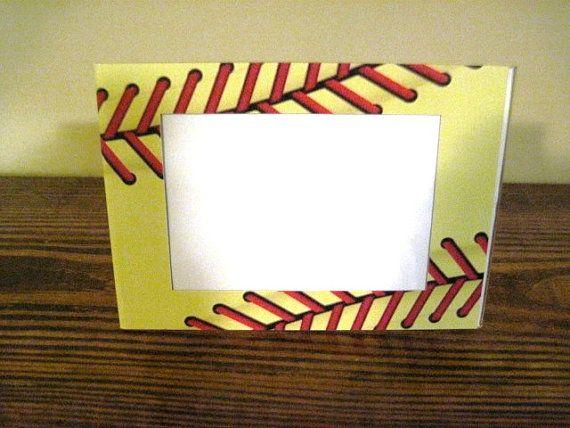 Softball Seams Picture Frame | Sports | Pinterest | Softball stuff ...