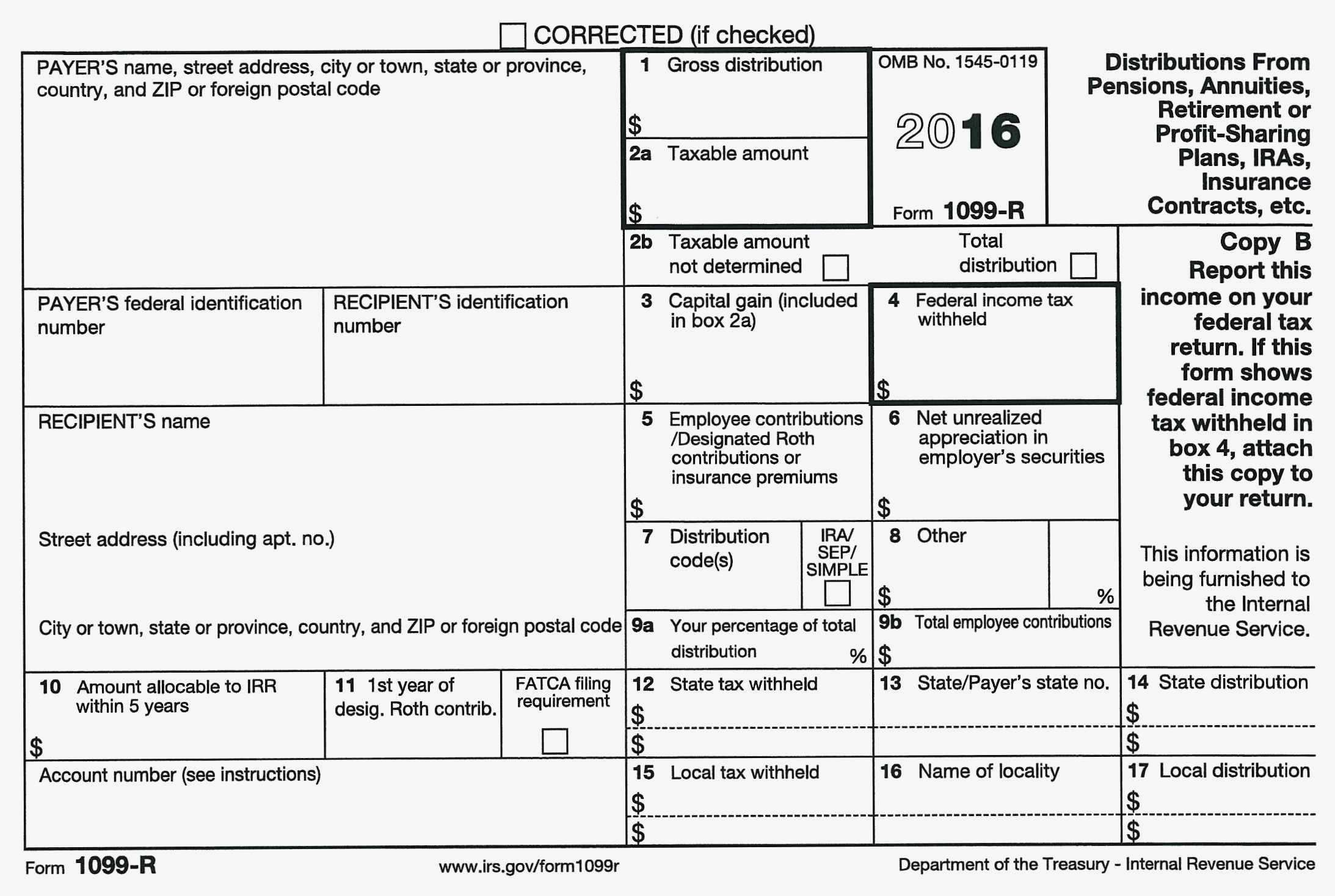 ssa 1099 form sample  Irs Gov forms 7 Misc 7 Awesome 7 Misc Template for ...