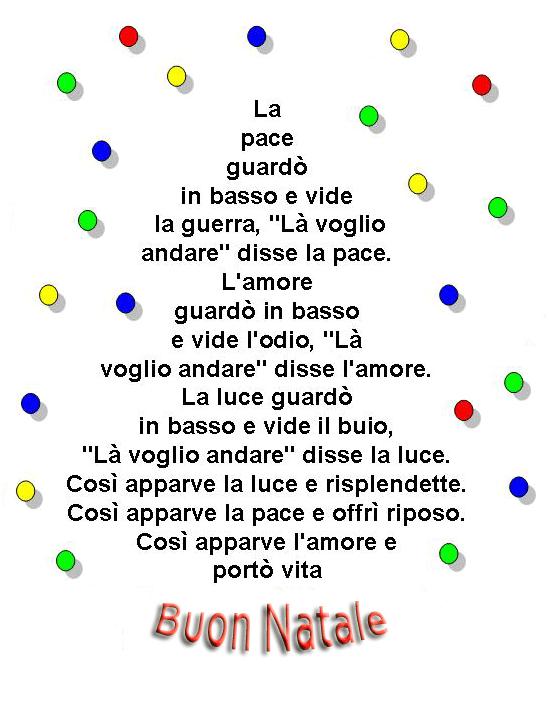 Poesie Di Natale Infanzia.Poesia Tanti Auguri Di Buon Natale Disegni Di Natale 2019