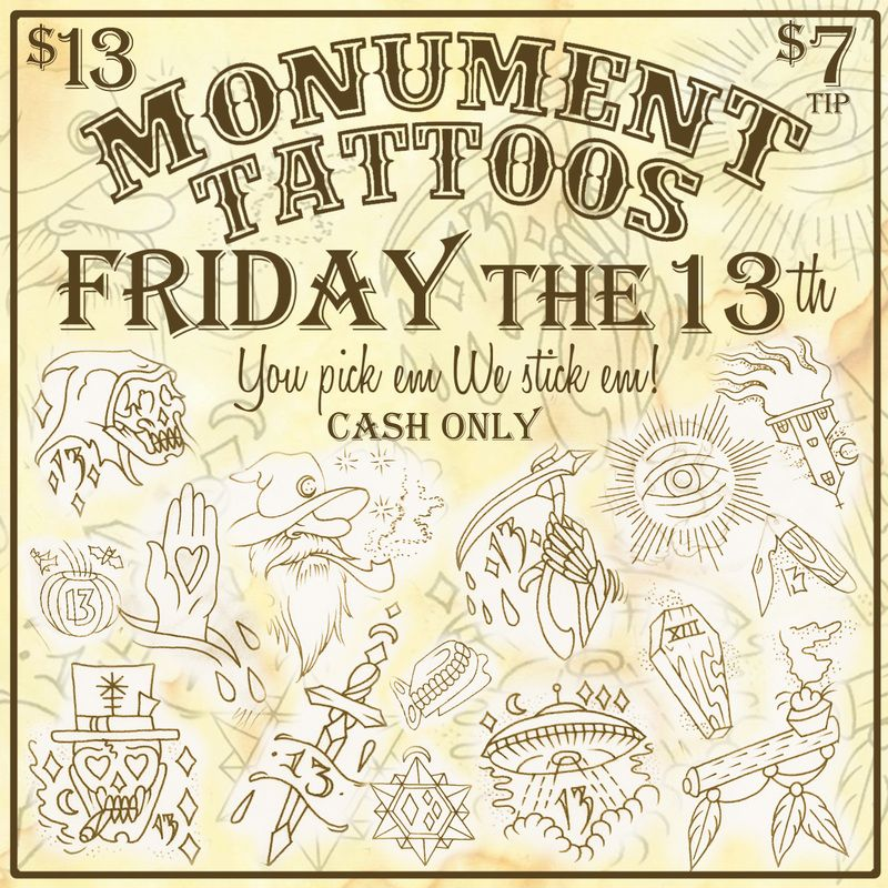 Friday the 13th tattoos google search tattoos for Friday the 13th tattoo specials near me