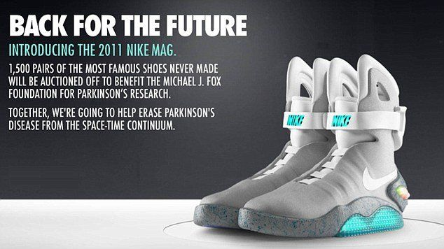 back to the future nike shoes 2015