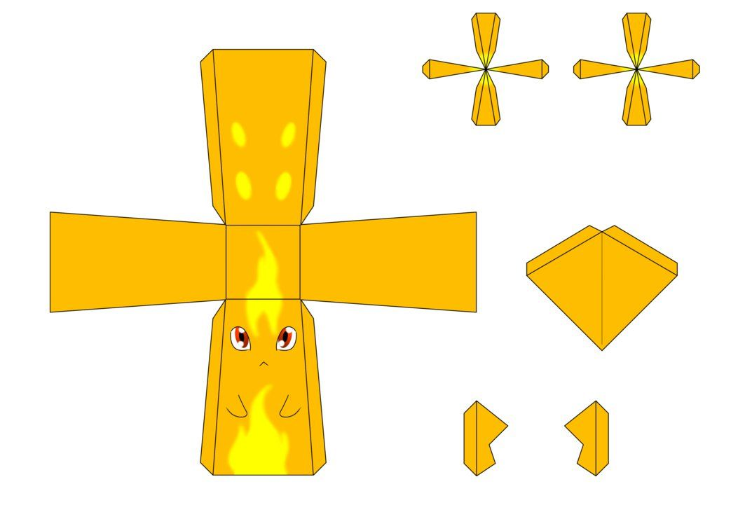 Burpy Papercraft Template By Drazugan  Slugterra Printables
