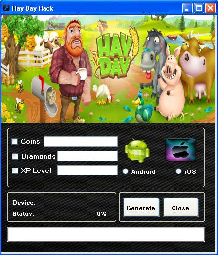 hay day hack 2018 without human verification