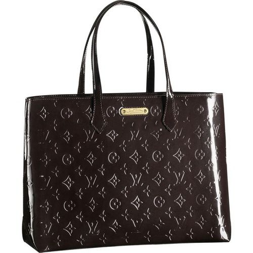 Louis Vuitton Monogram Vernis Wilshire Mm M91440 Ars-$252