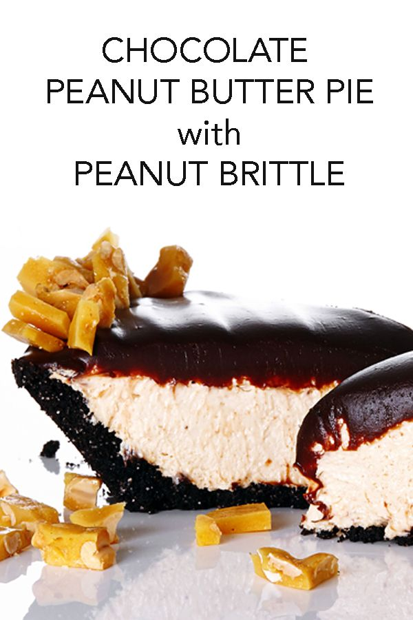 피넛 브라이틀 초콜릿 피넛버터 파이