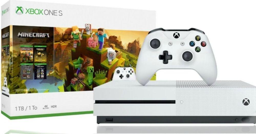 Microsoft Xbox One S 1tb White Home Console Xbox Wireless Controller Xbox One S 1tb Xbox One S