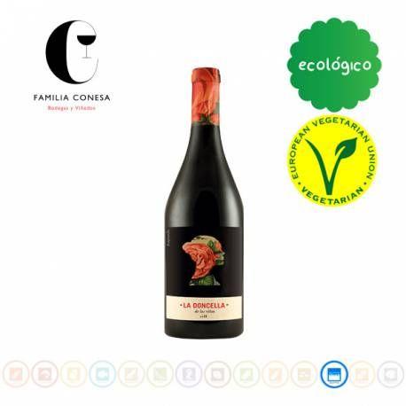 En Alacena de la Vega puede comprar online Vino La Doncella de la Viñas Tempranillo, Bodegas Familia Conesa. Envío 24-72 h. Vino de Castilla.