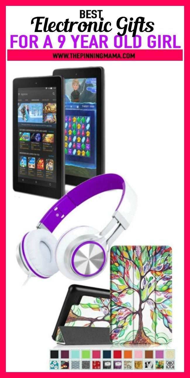 Electronic Gift Ideas For A 9 Year Old Girl See 25 Of The Best Gift Ideas For Birthday Or Christmas 9 Year Old Girl Tween Girl Gifts Happy Birthday Teenager