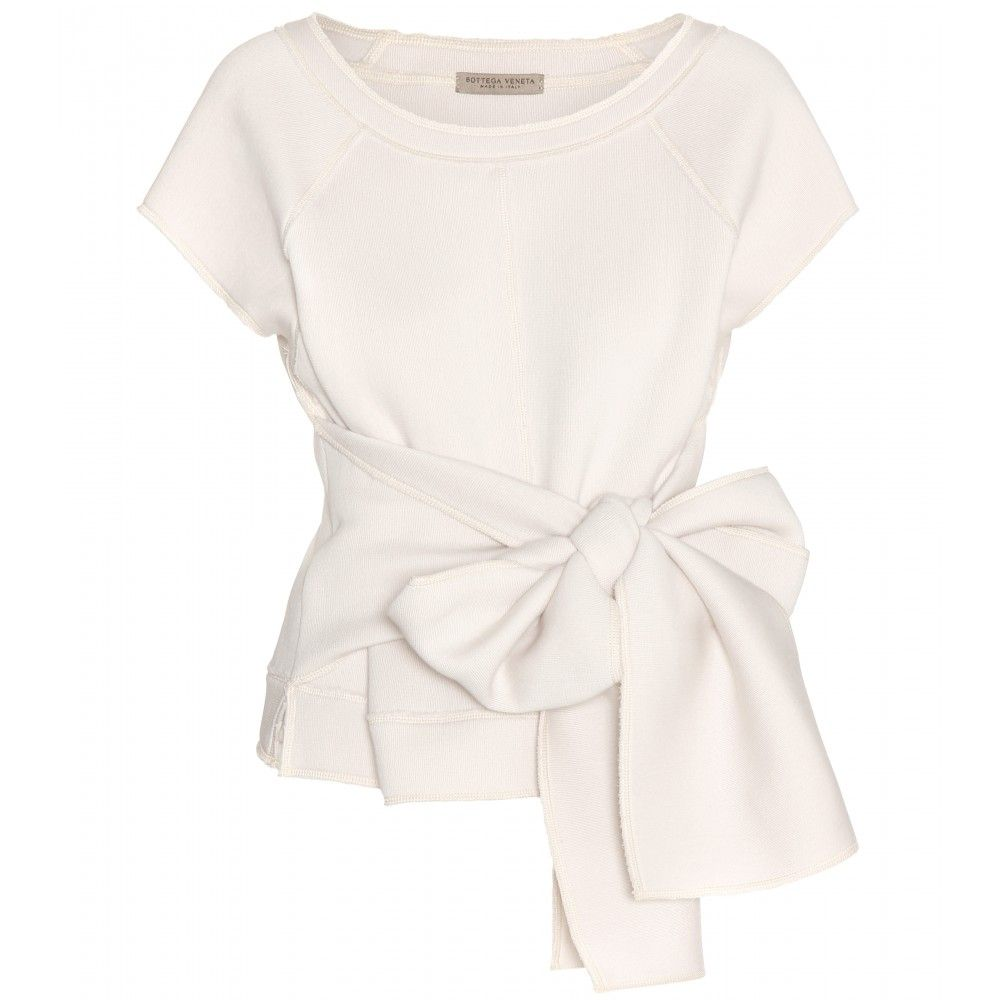 mytheresa.com - Sweattop - Kurzarm - Tops - Kleidung - Bottega Veneta - Luxury Fashion for Women / Designer clothing, shoes, bags
