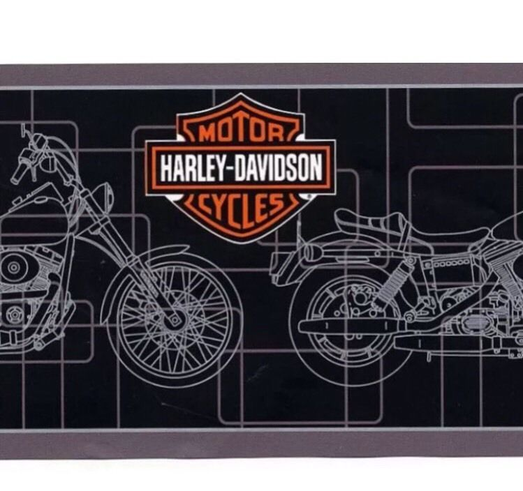 Genuine Harley Davidson Motorcycles Bike Black Silver Wallpaper