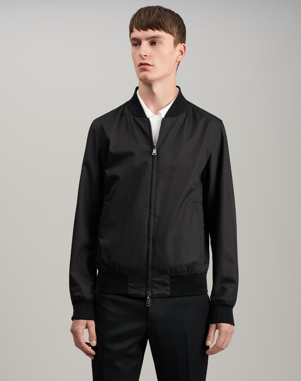 Men's Black Carbon Fibre Print Jacket dunhill PH Online