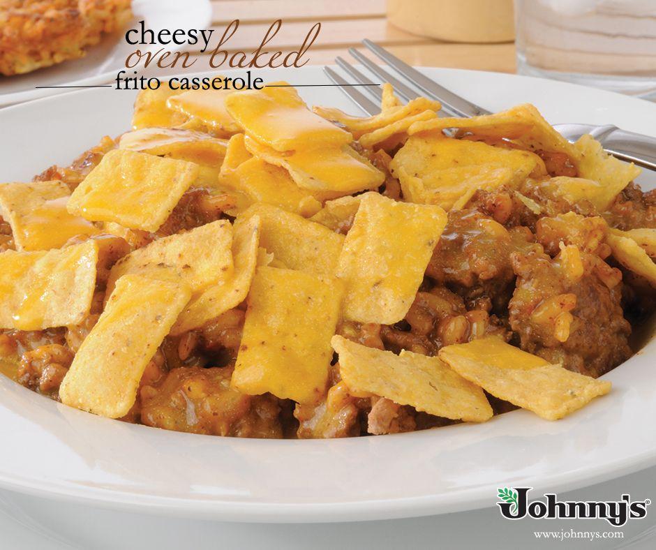 Cheesy Oven Baked Frito Casserole «  Johnny's Fine Foods