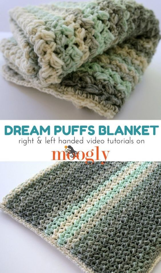 Dream Puffs Blanket Tutorial