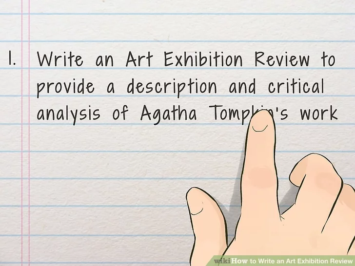 How To Write An Art Exhibition Review Art Exhibition Exhibition Artist Statement