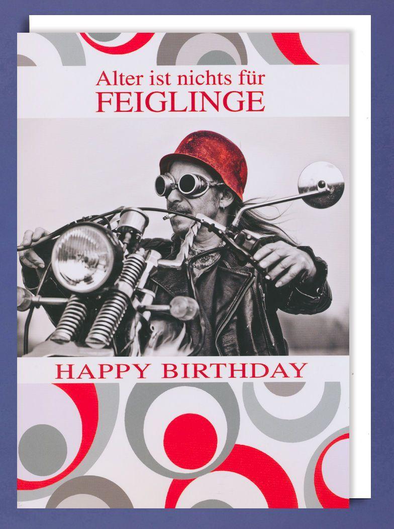 Geburtstagsbilder Manner Motorrad Inspirational Riesen Grusskarte