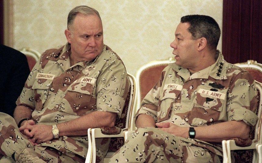 In pictures Desert Storm Commander Norman Schwarzkopf