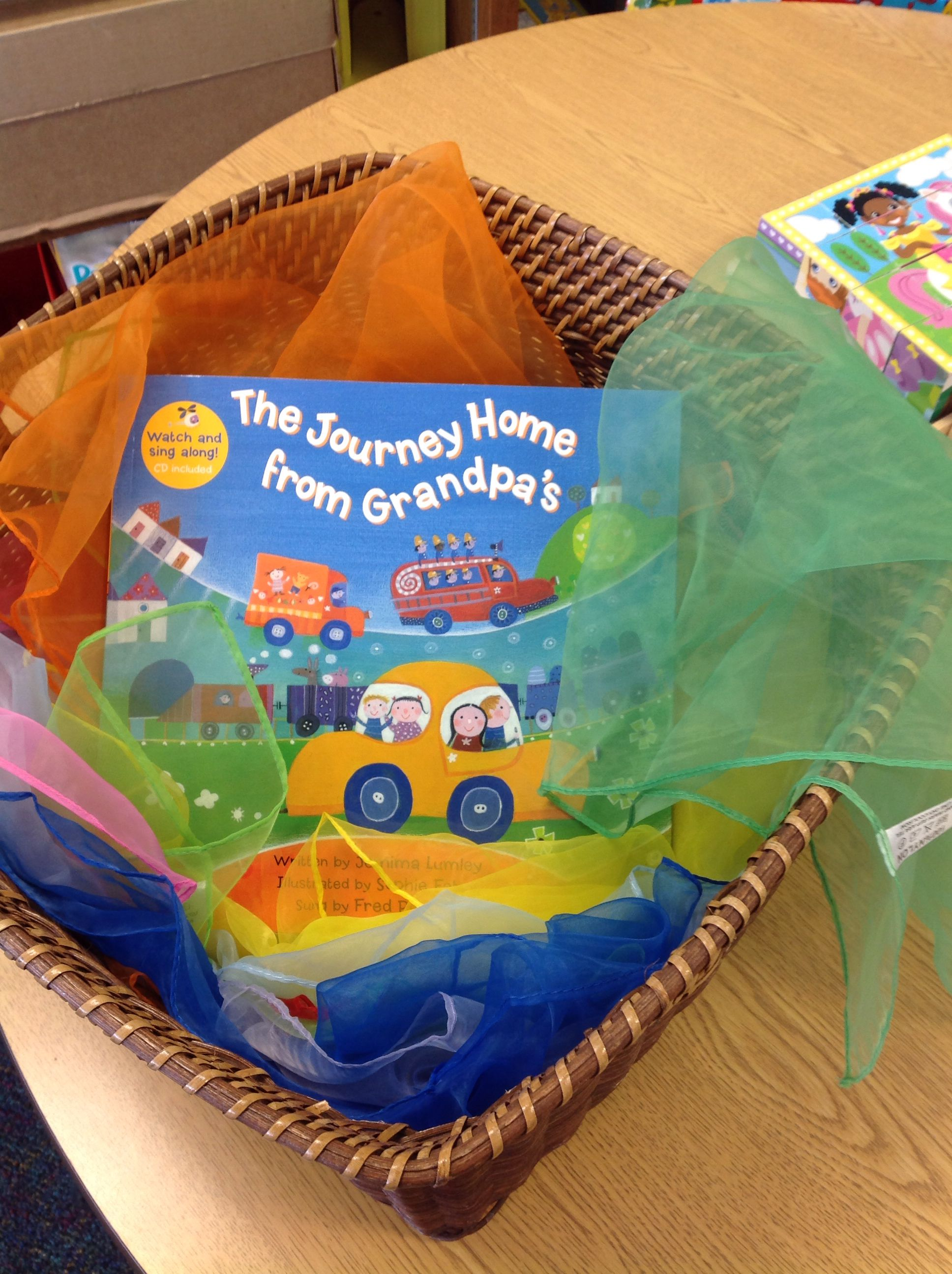 The Journey Home From Grandpa S Preschool Interactive