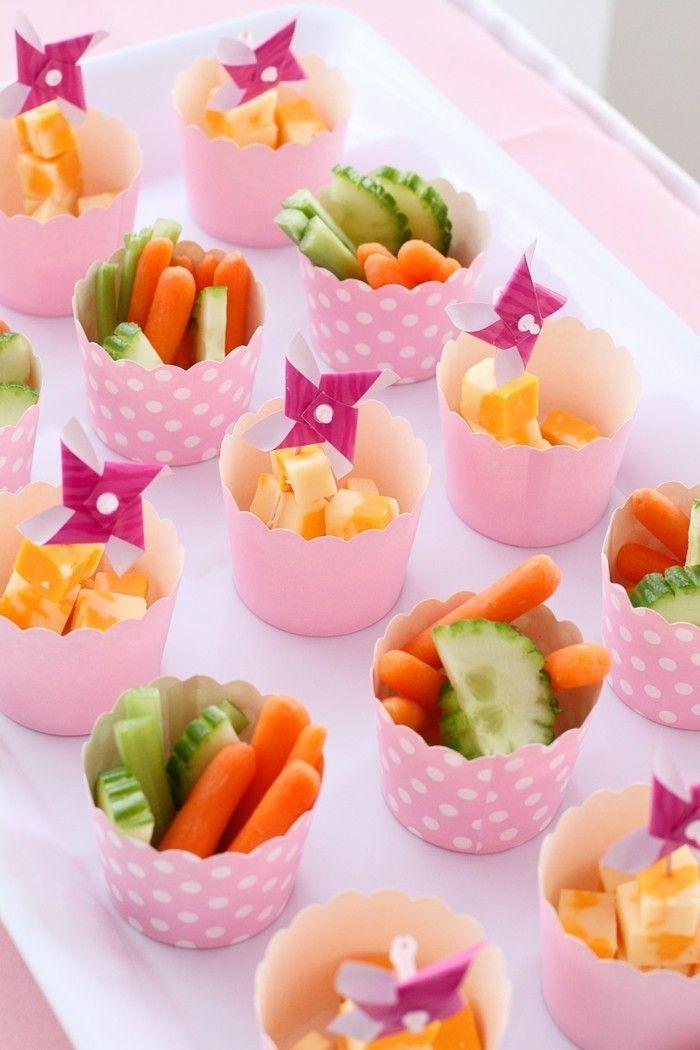 59 lustige Party Snacks Ideen, die wir gern am Kindergeburtstag essen