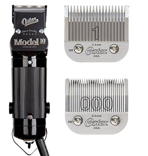 Oster Model 10 Classic Professional Barber Salon Pro Hair Grooming Clipper With Blades Size 000 And 1 Revie Hair Clippers Barber Salon Professional Hairstyles