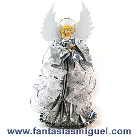 como hacer angeles de tela para navidad buscar con google