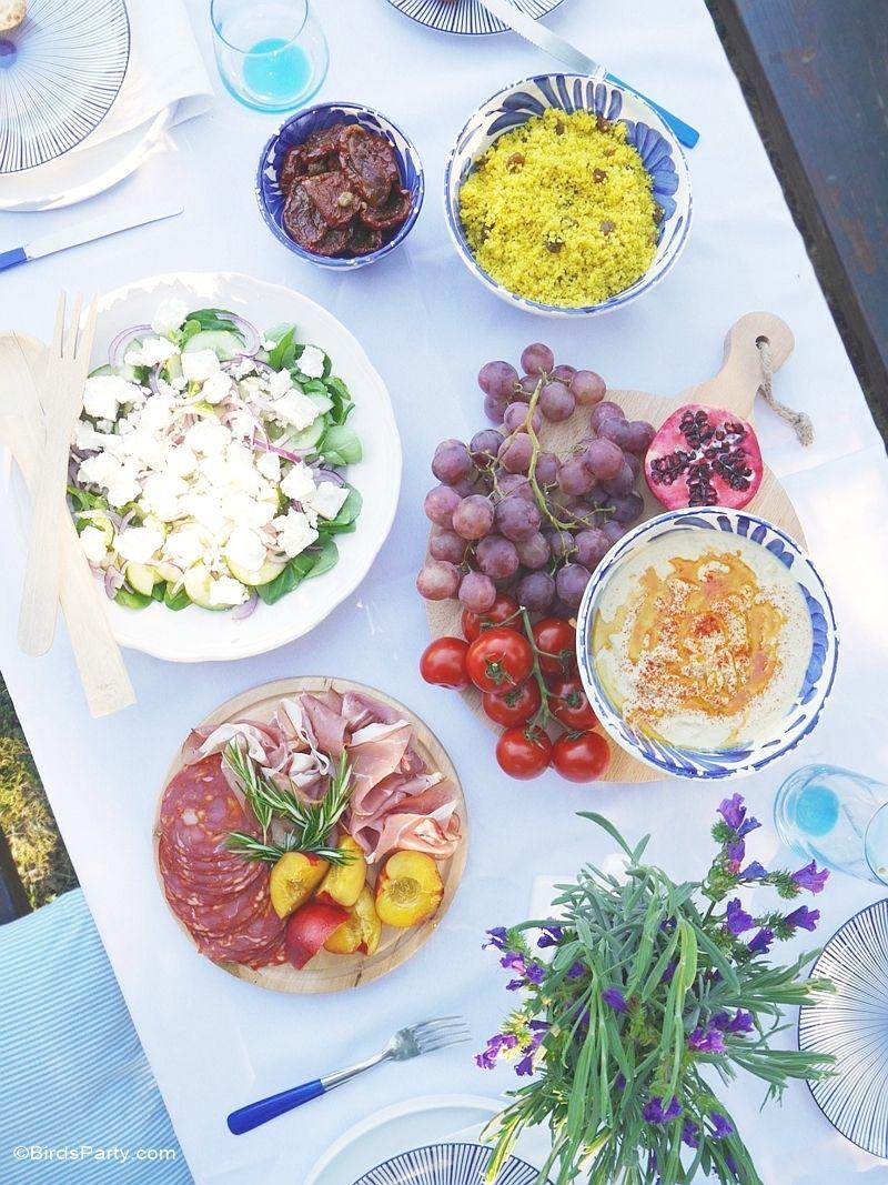 Ordinary Mediterranean Dinner Party Ideas Part - 7: A Mediterranean Inspired Party