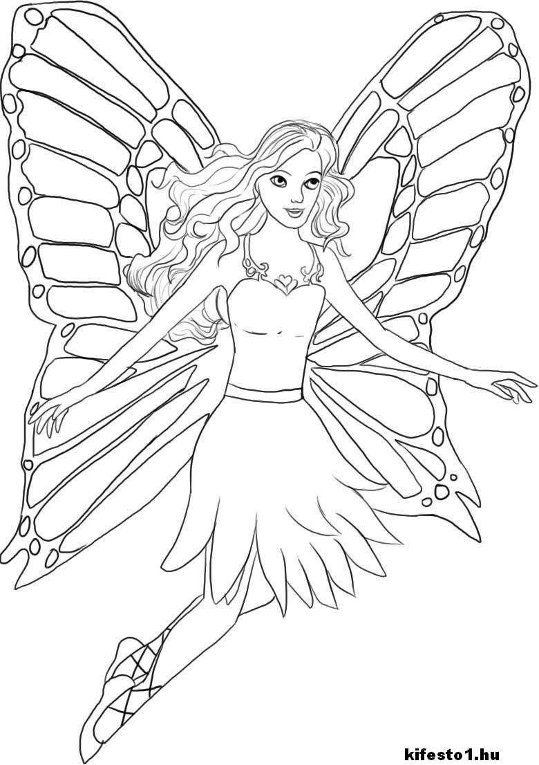 Tunderes Kifesto 1 Kifesto1 Hu Jpg 780 1106 Fairy Coloring Barbie Coloring Pages Princess Coloring Pages
