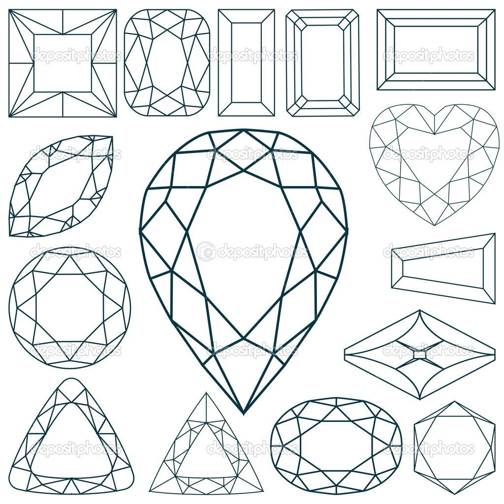Ilustracao Pedra Preciosa Google Search Desenho De Joias