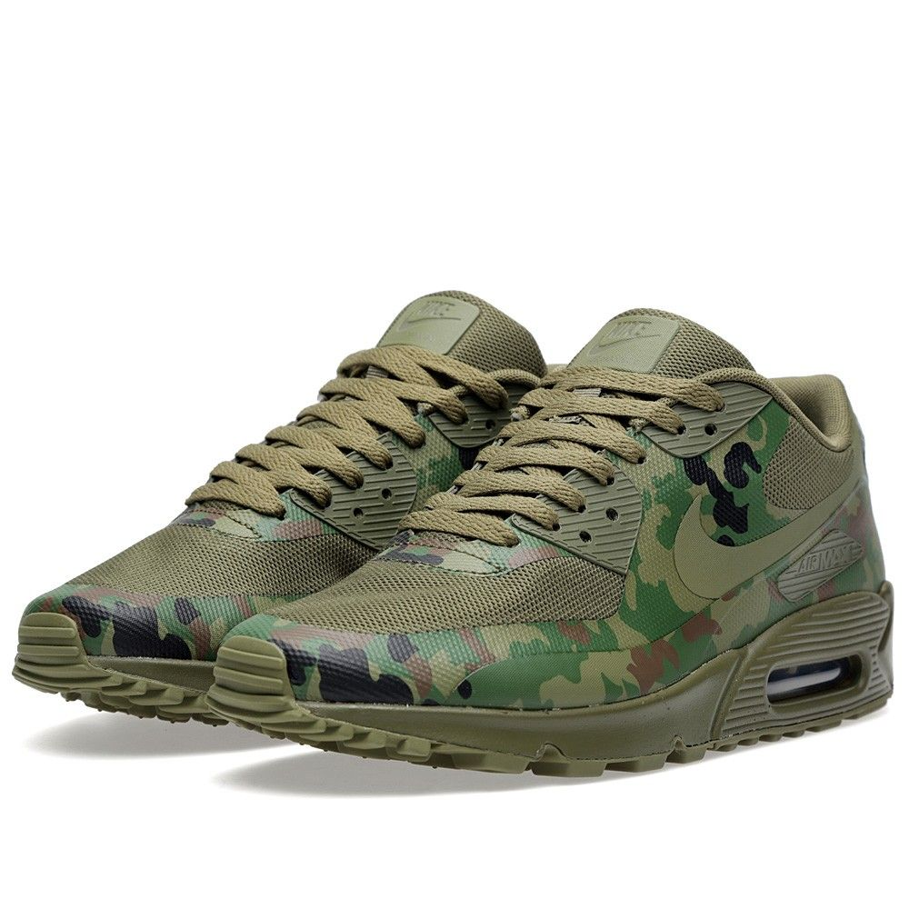 new product 8ece9 3898a Nike Air Max 90 Camo SP Japan Olive | Roks Kicks | Nike Air Max, Air ...