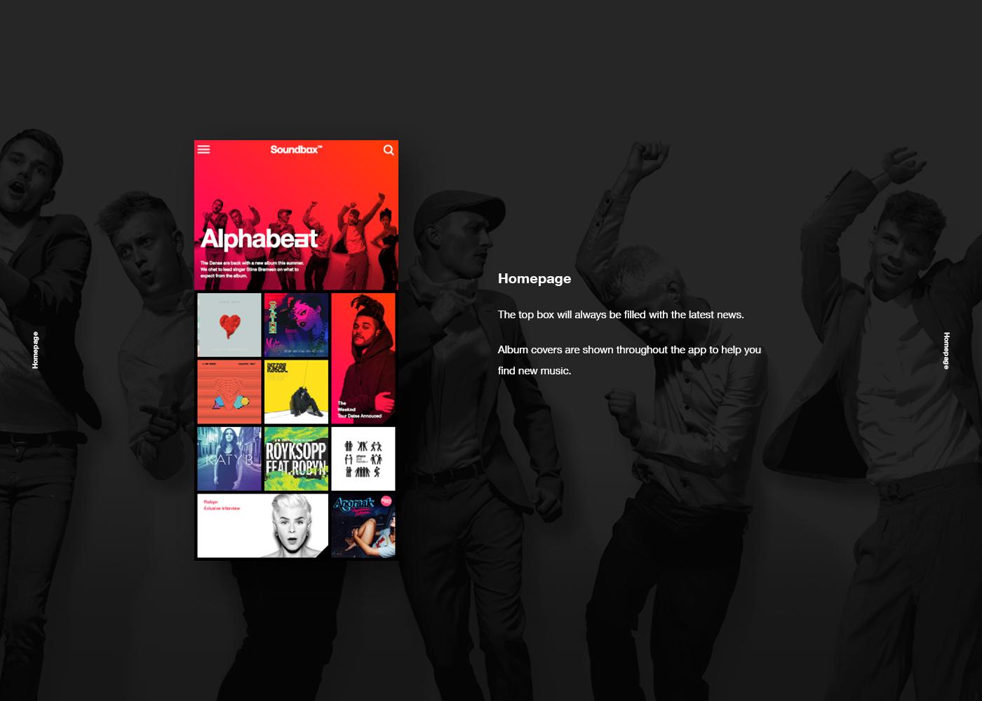 Vodafone Soundbox — Power To You on Behance mock up