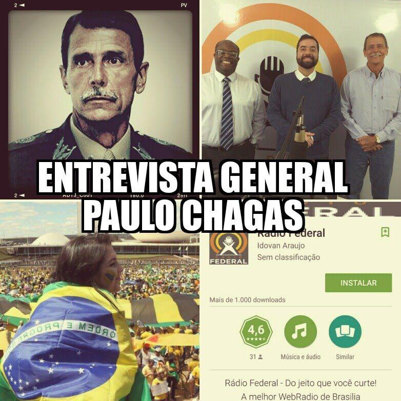 BlitzDigital entrevista General Paulo Chagas