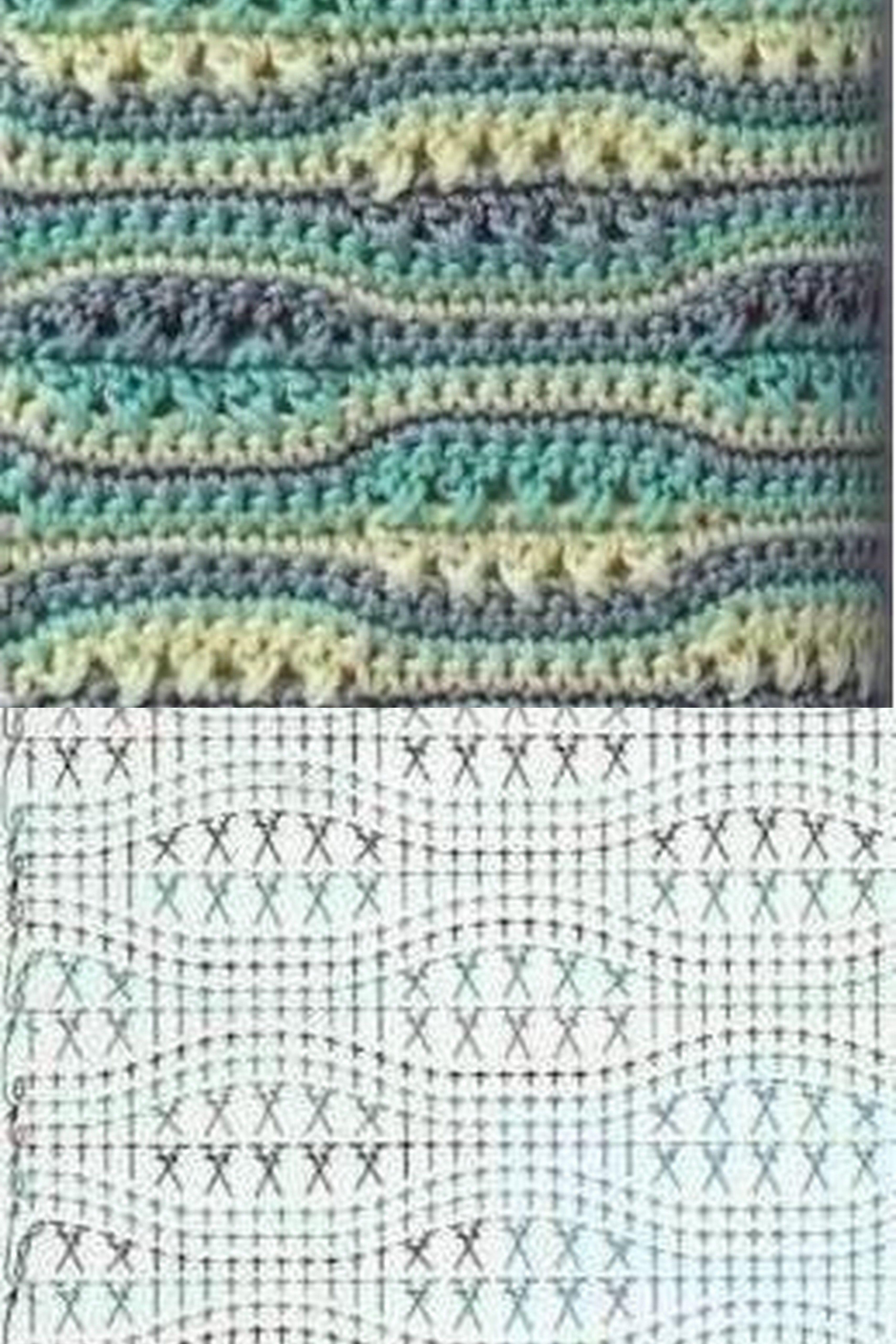 Pin de Isabel Cordon en crochet   Pinterest   Punto de crochet ...