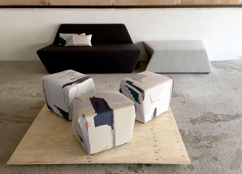 Furniture Design Uts custom fabric for tom fereday design | uts id grads + works
