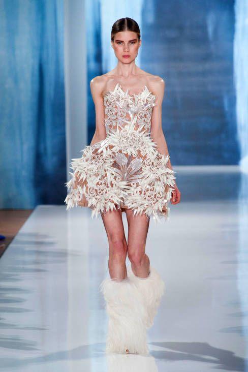 Valentin Yudashkin Fall 2013 #runway #fashionweek