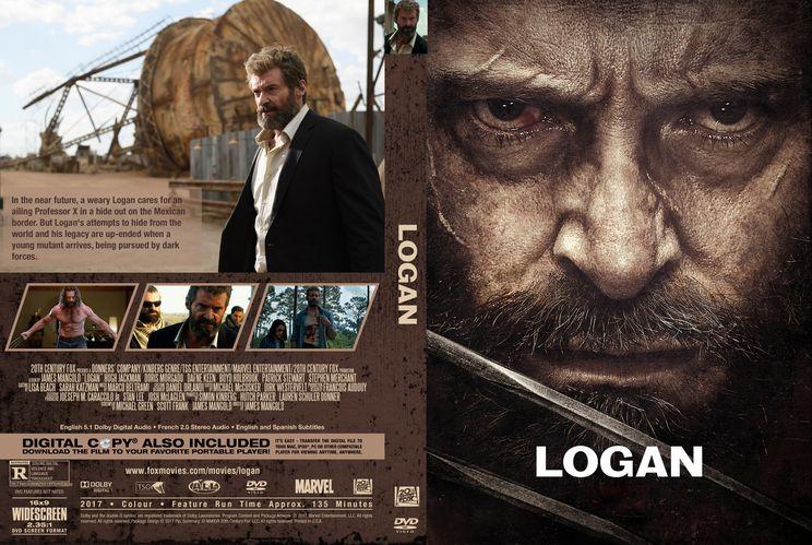 Logan Custom Dvd Cover Custom Dvd Cover Art Pinterest Cover