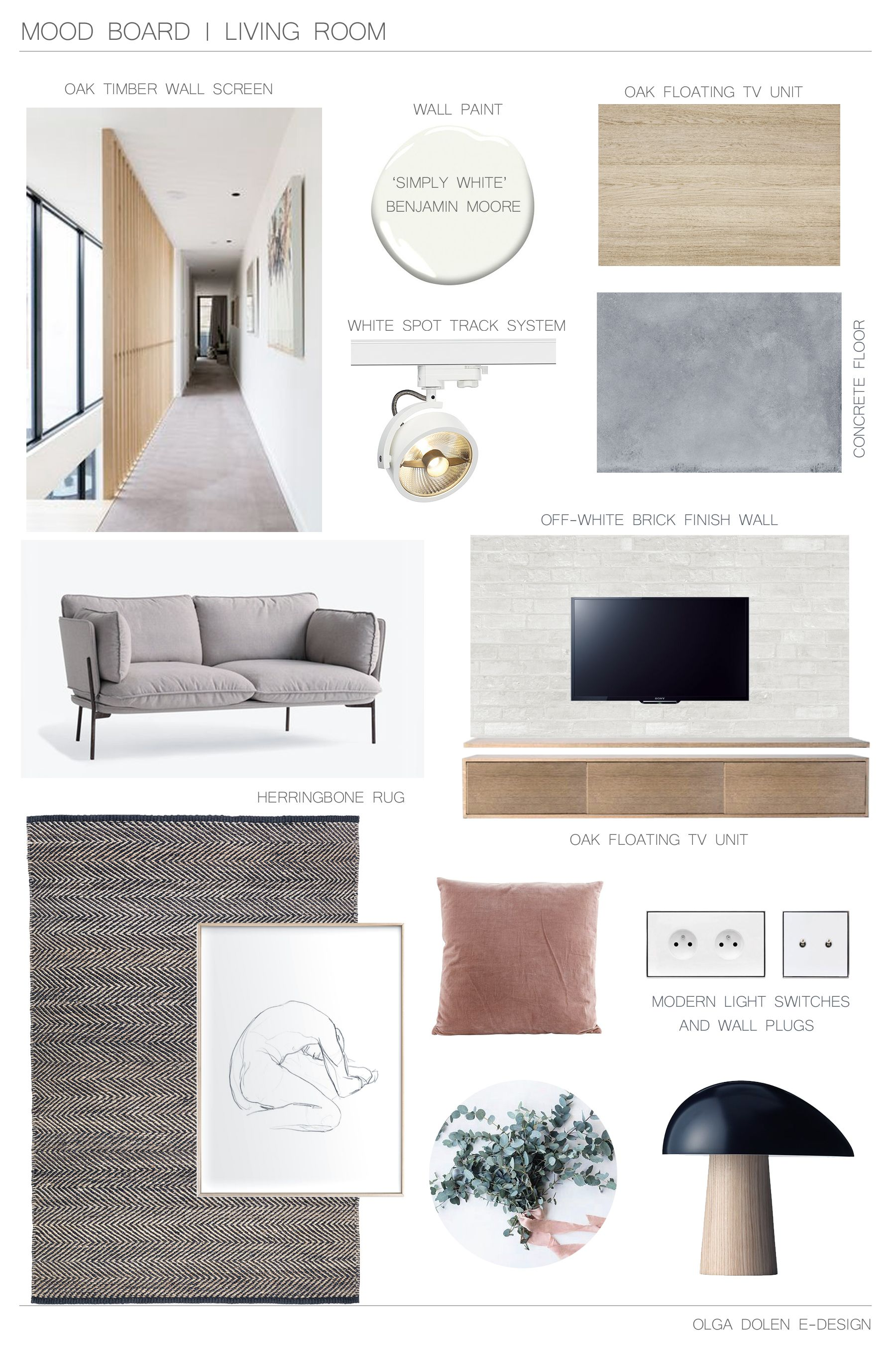 I M Back With Makeover Part For One Of My E Design Project And Today S Post About Creating A Concept The Living Room