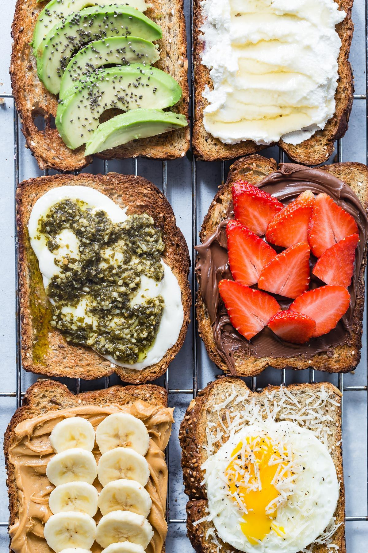 2 Ingredient Toast 6 Ways Recipe In 2019 Favorite Recipes