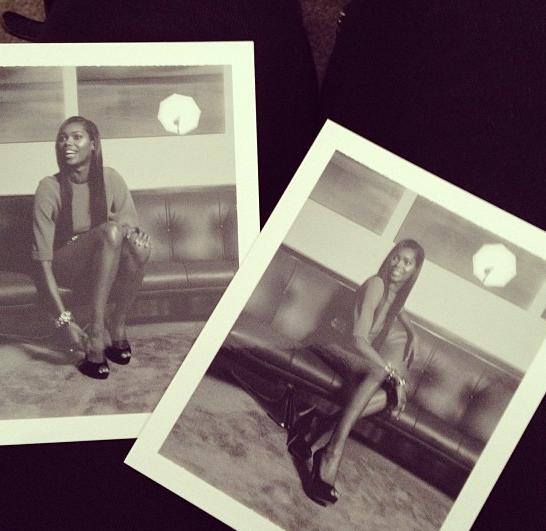Snap shots of Jessica White for Social Life Magazine shoot!
