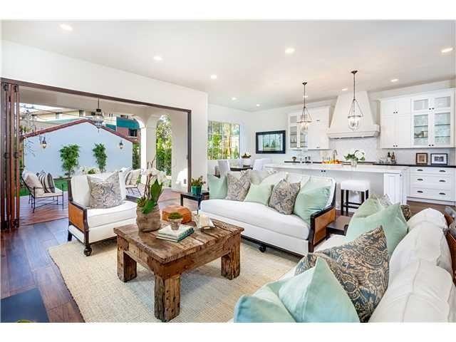 Http Humblepedigree Com House Tour Santa Barbara Style In La Jolla Family Living Rooms Interior Design Jobs Adobe House