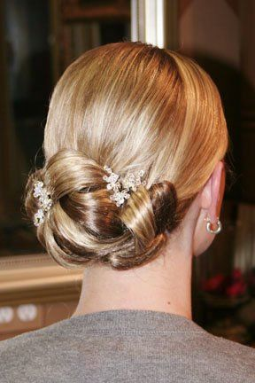Elegant Mother of Bride Updo | Wedding Updos For Mother Of The ...