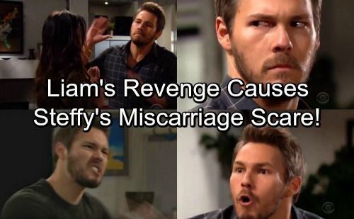 The Bold And The Beautiful Spoilers Liams Revenge Causes Steffys