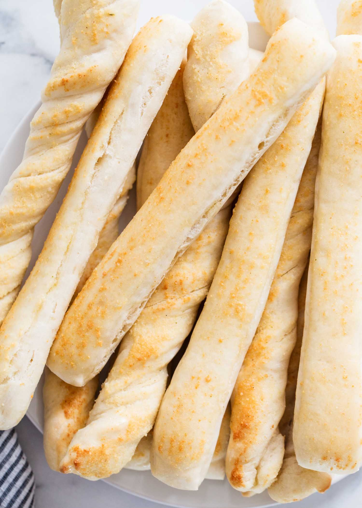 Easy Breadstick Recipe Done In 45 Minutes I Heart Naptime Recipe Homemade Breadsticks Breadsticks Recipes