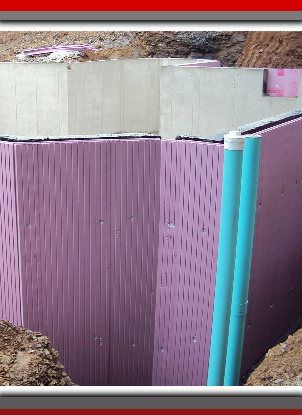 Concrete Walls Have Low Insulating Value, Which Means Cold From The Ground  Transfers Directly Into