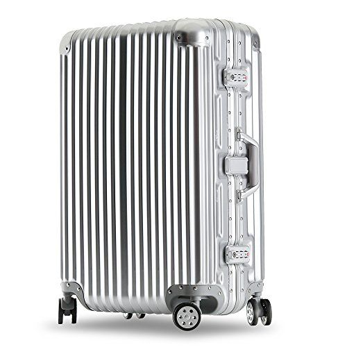 62b9d69d5aa7 Kroeus ABS+PC Trolley Luggage Suitcase Lightweight Hardshell with ...