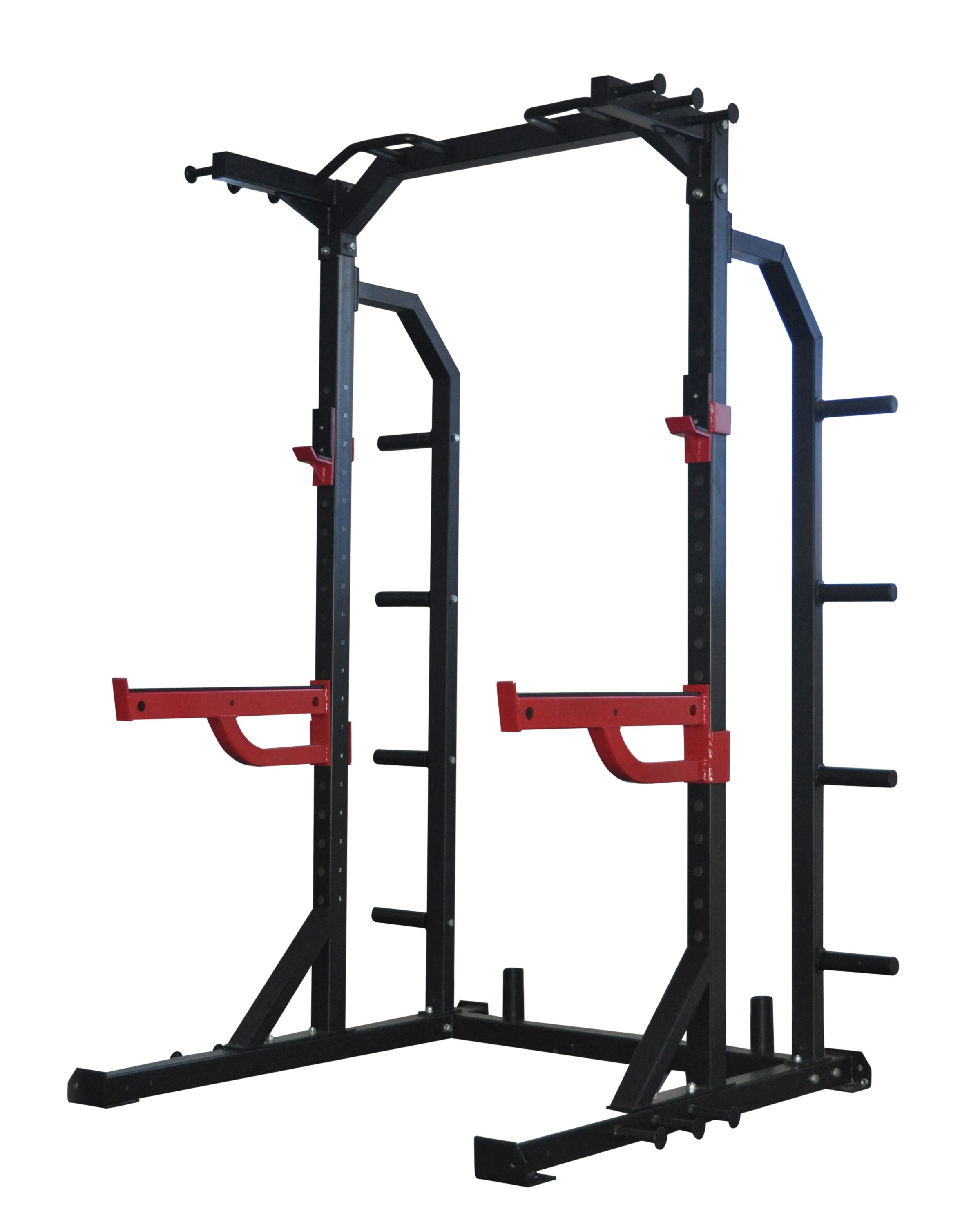 Garage Gym Half Rack Power Racks Smith Machines Bodyworx Hd Half Rack L870hr