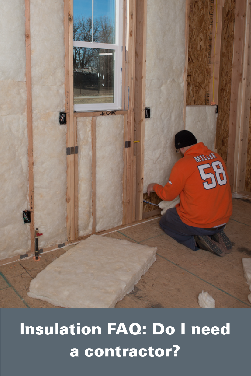 Do I Need A Contractor No Most Home Insulation Projects Can Be Easily Completed By Homeowners Jminsula Contractors Home Insulation Installing Insulation